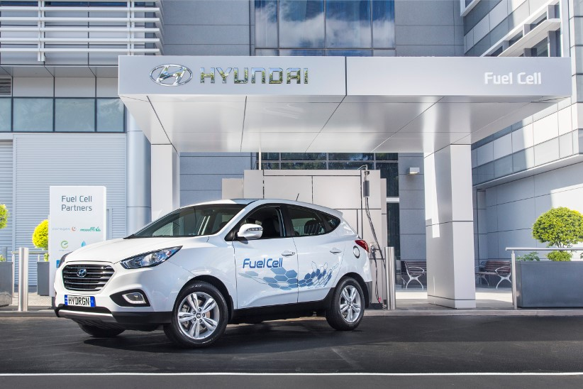 Hyundai launches fuel cell vehicle