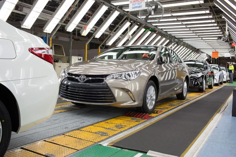 Toyota launches last locally built Camry
