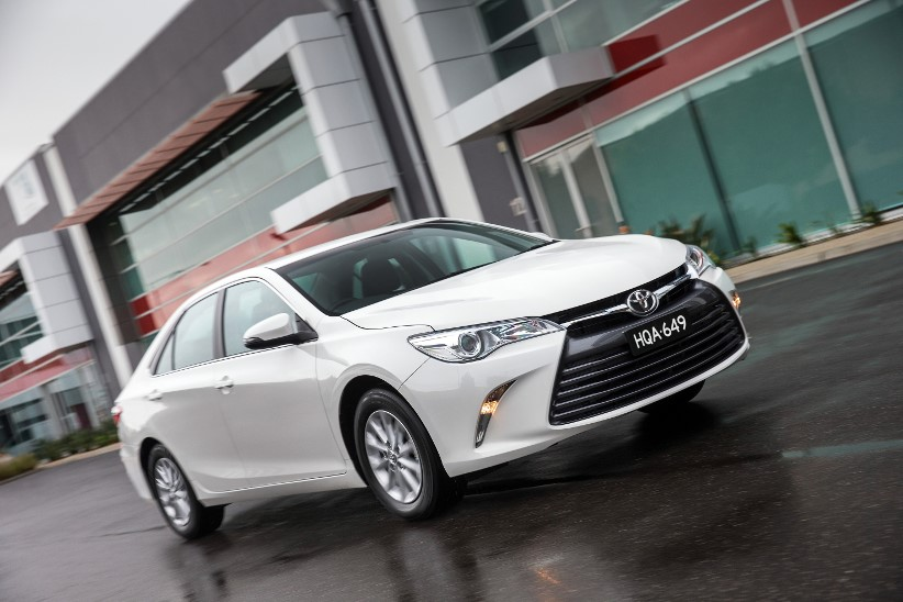 2015 Camry - reviewed by a fleet driver