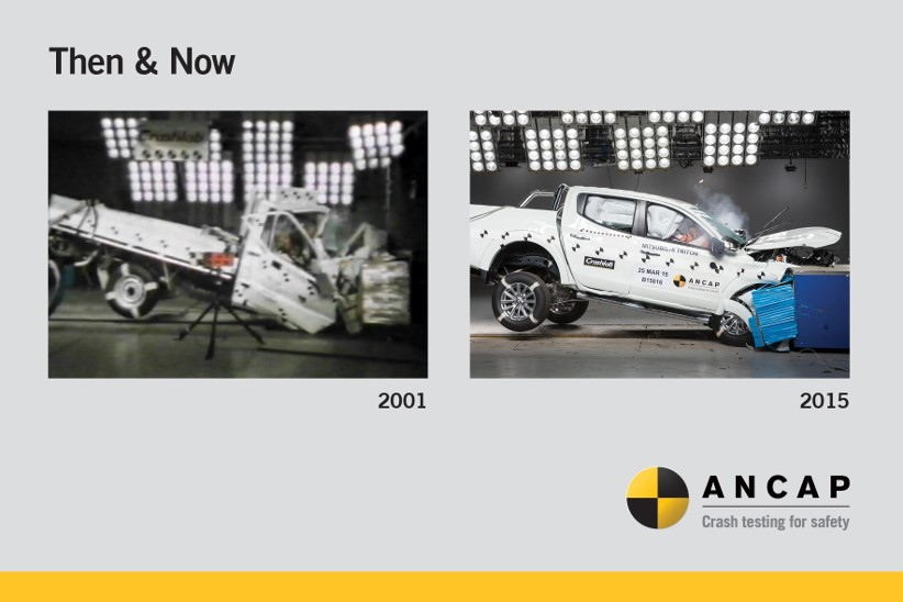 How safe are the vehicles in Australia compared to 2003?