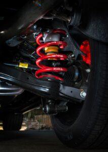 Hyundai Santa Fe SR novated fleet suspension