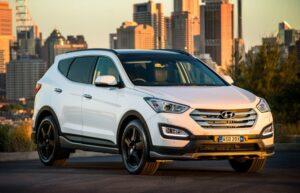 novated lease Santa Fe SR Hyundai
