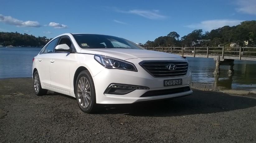2015 Hyundai Sonata Active - reviewed by a fleet driver