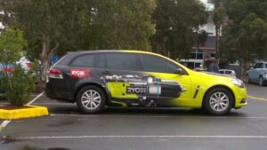 Ryobi - full vehicle wrap