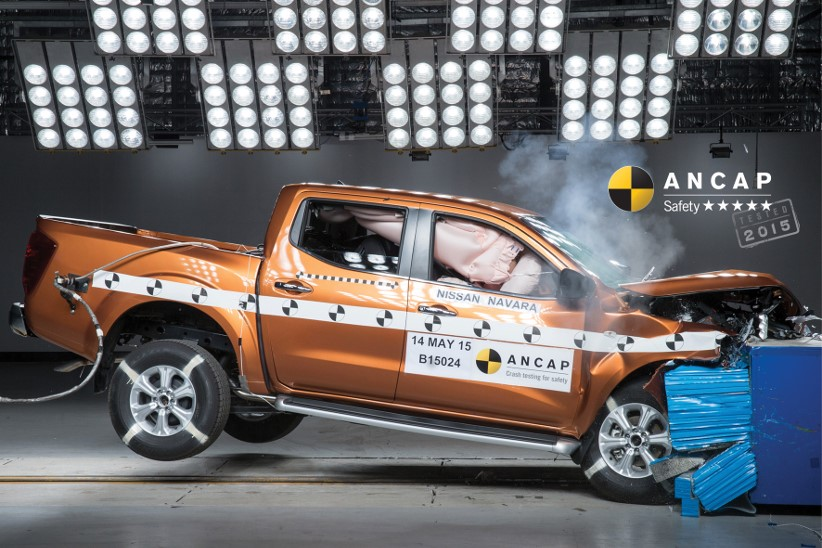 New NP300 Navara achieves ANCAP five star rating