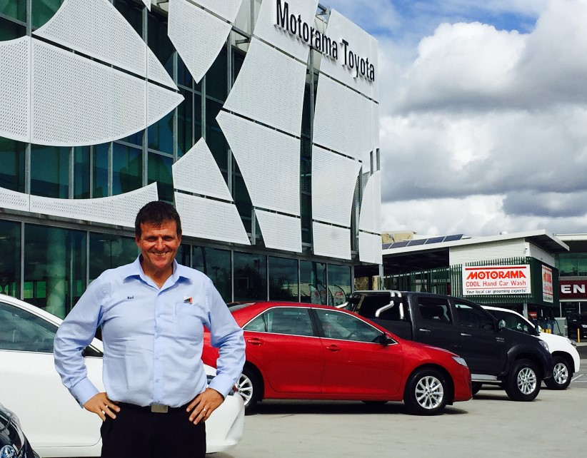 Interview with Rod Caldwell - Business Development Manager at Motorama Group