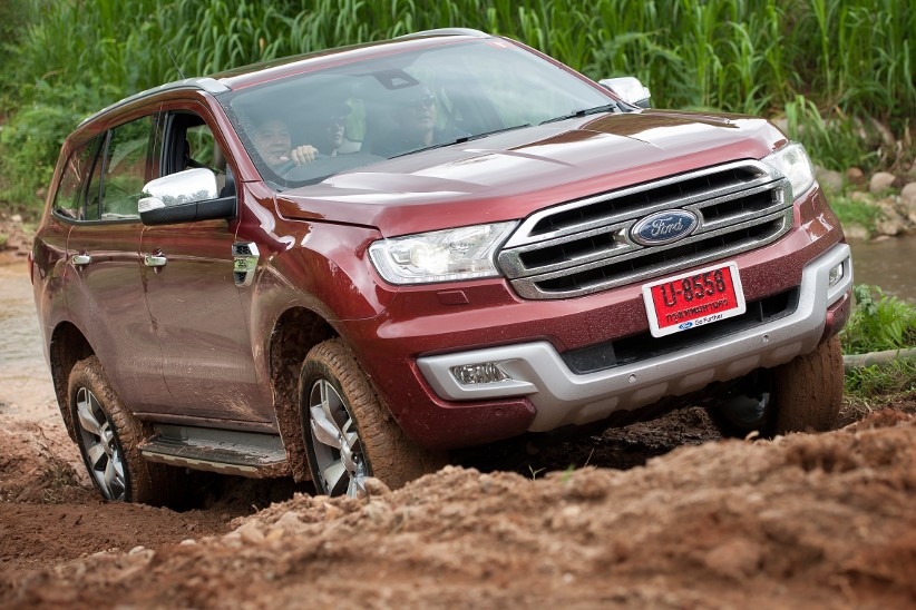 Images of the new Ford Everest