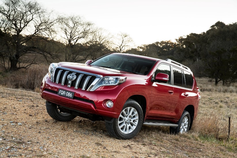 Perfect for a novated lease - Toyota Prado tops the sales charts
