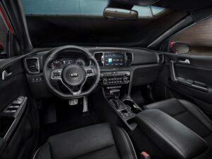 2015 Kia Sportage novated lease interior