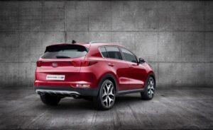 2015 Kia Sportage novated lease rear