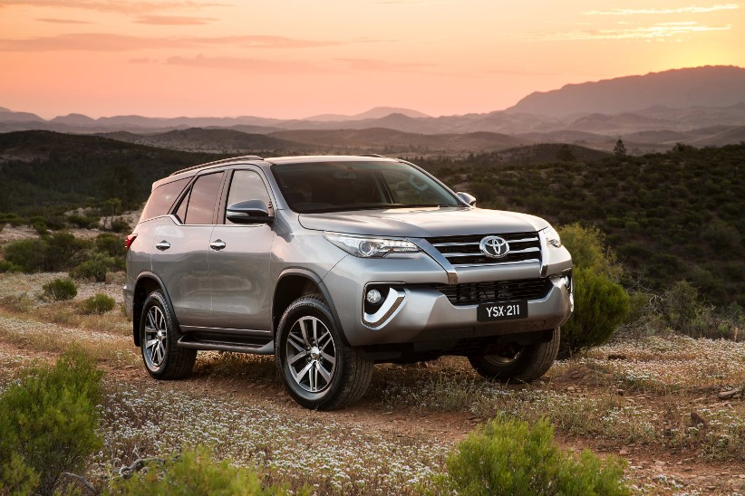 Toyota Fortuner - Key specifications for novated customers