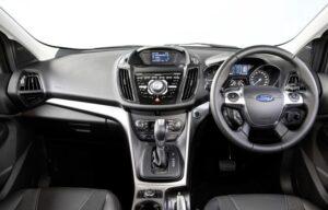 Ford Kuga Trend fleet management news interior