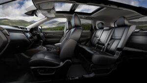 Nissan X-Trail novated lease interior