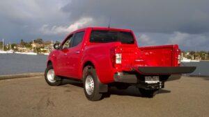 NP300 Nissan Navara vehicle review rear tray