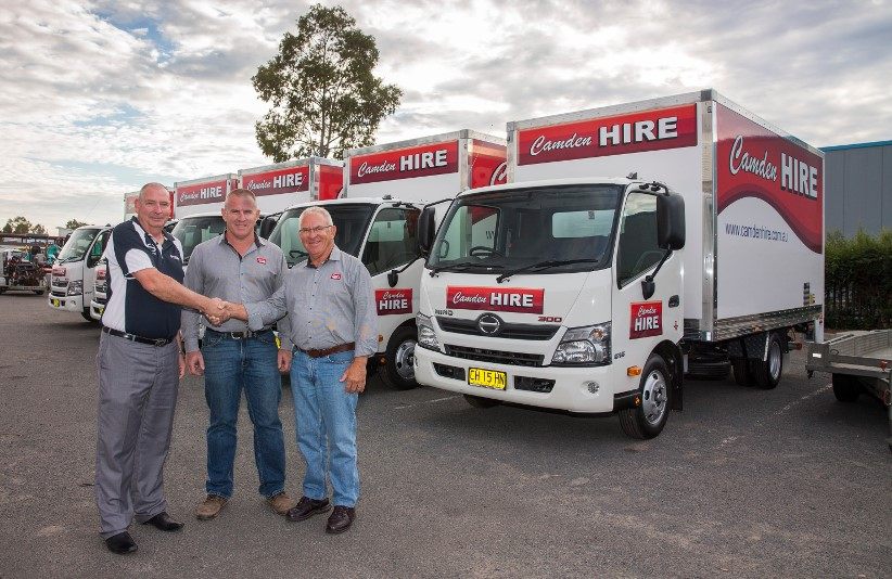 Hino make rental decision easy for Camden Hire