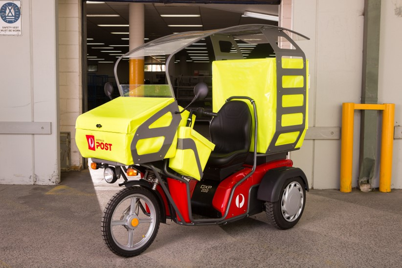 Australia Post turning green with electric delivery vehicles