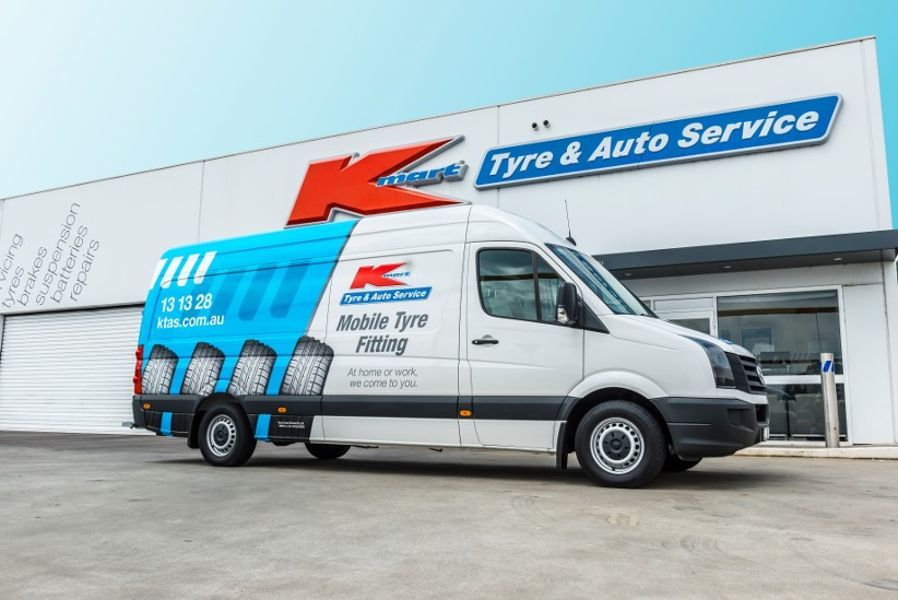 Kmart Tyre & Auto Service launches mobile tyre fitting for fleets