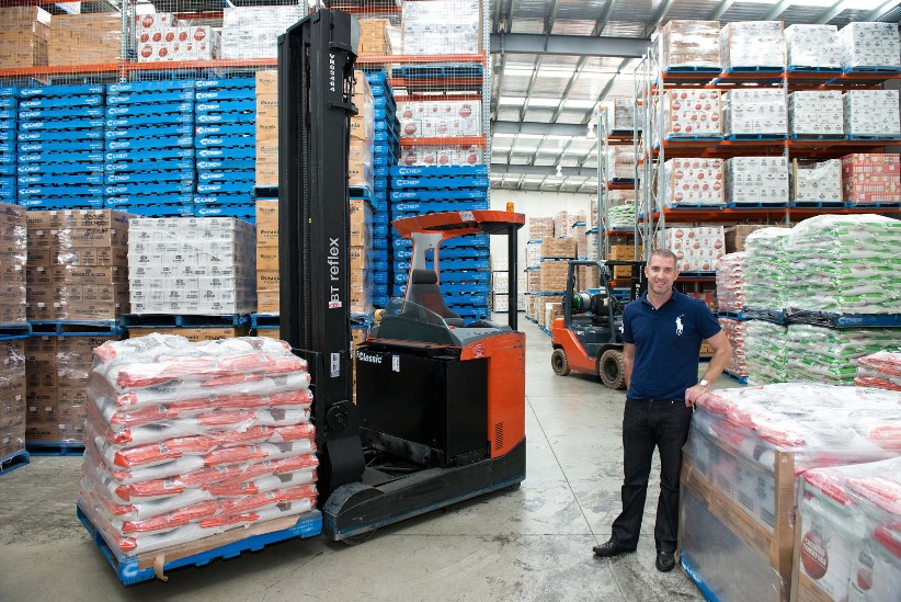 Local food importer expands with Toyota forklifts
