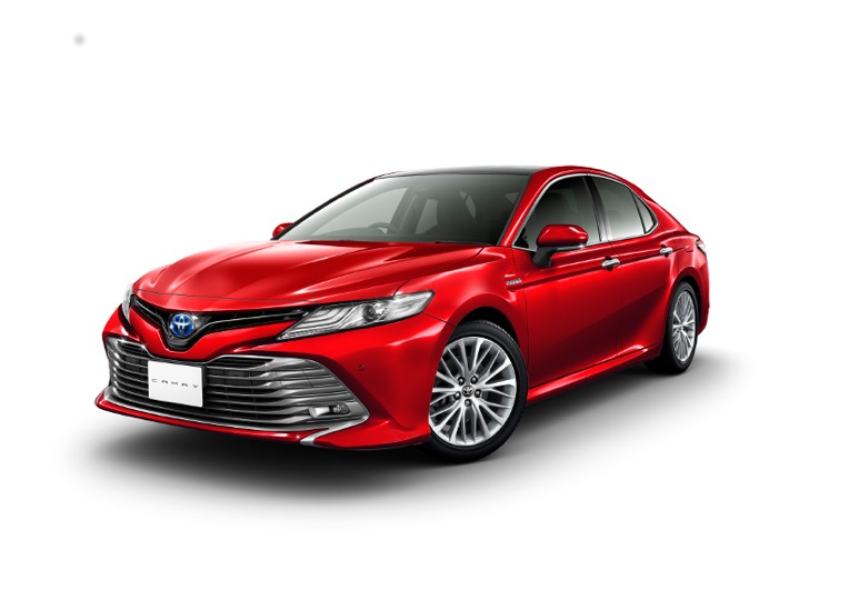 First images of the new global Toyota Camry