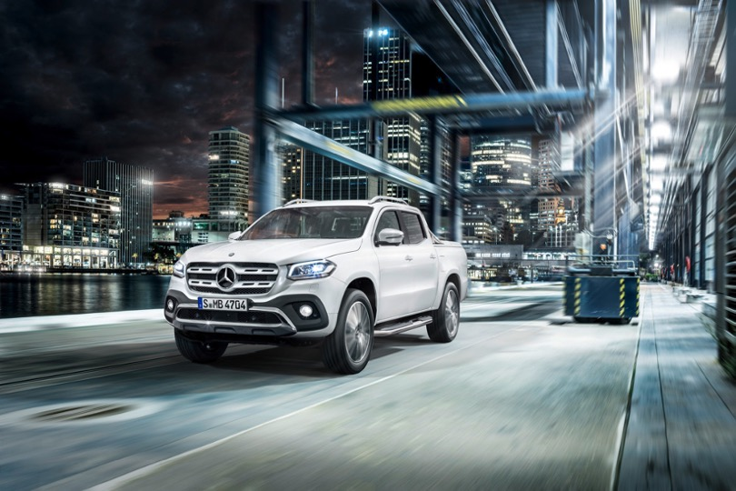 Ute meets lifestyle – the Mercedes-Benz X-Class