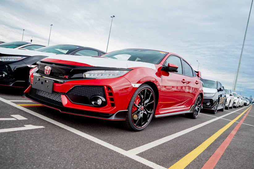 e4a0230ad2 The wait is over – Honda Civic Type R has officially arrived ...