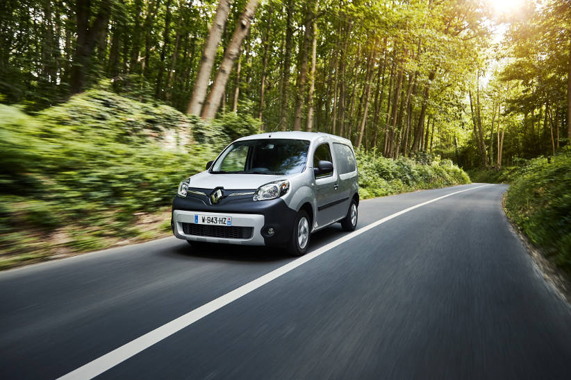 Renault Kangoo zero emission: greater range, faster charging
