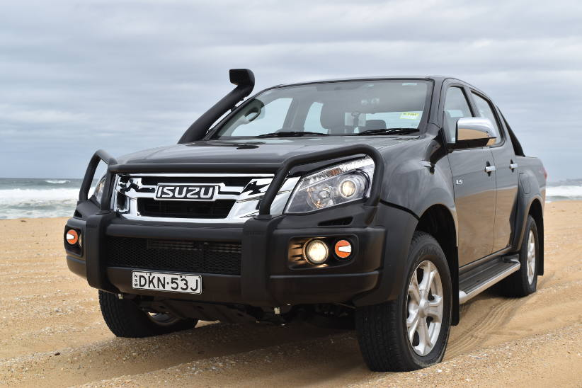 Isuzu D-MAX – Going anywhere you want