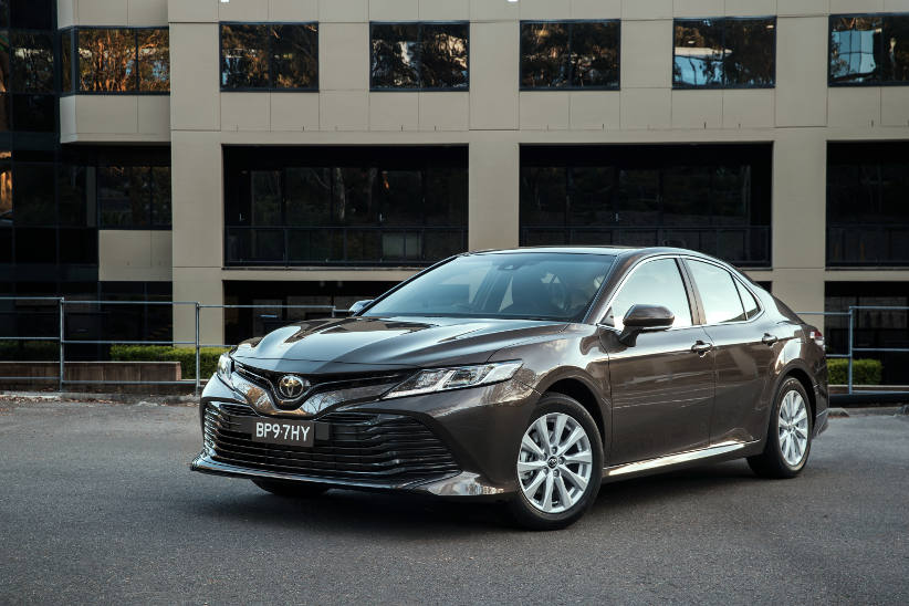 Another new Camry for fleets - not built in Oz