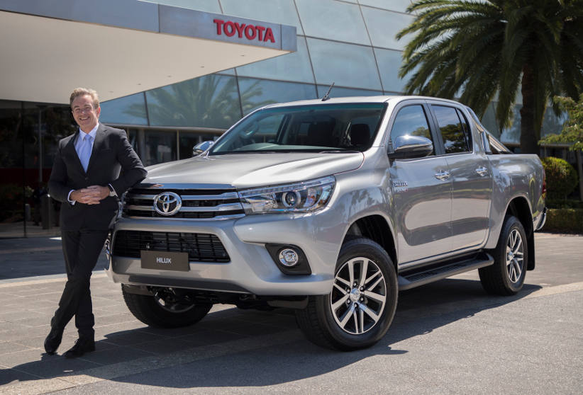 Matthew Callachor is appointed President and CEO of Toyota Australia