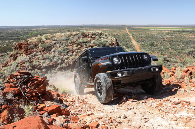 Jeep tests new Wrangler in Australia's harsh conditions