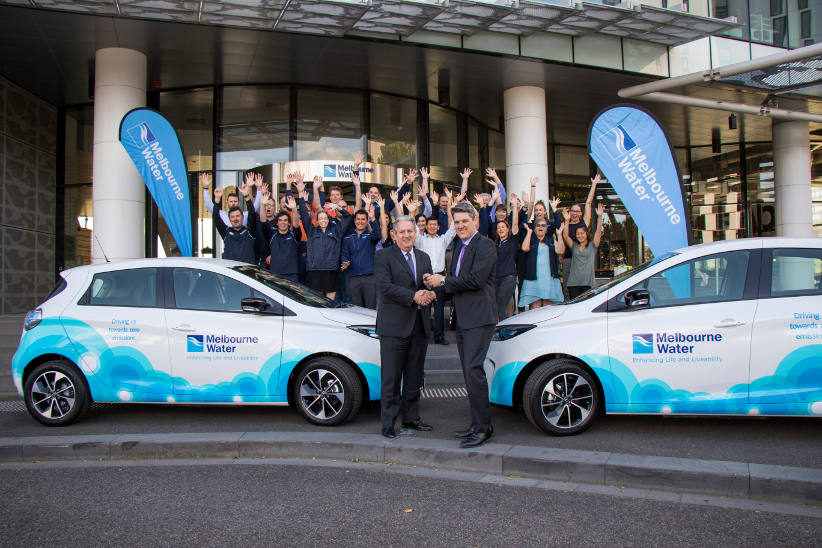 Melbourne Water MD announces zero emissions fleet strategy