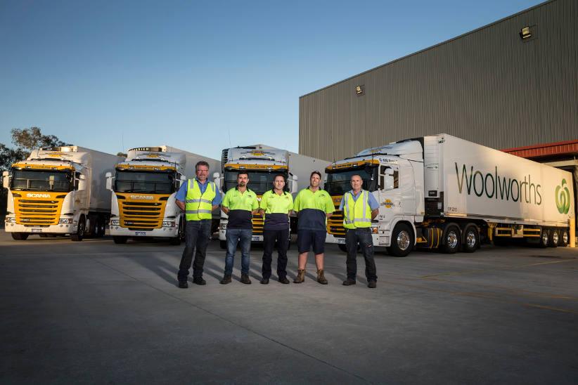 Scania's cleanest fleet in Australia