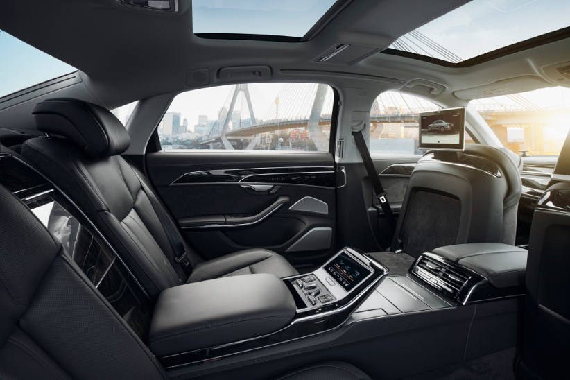 The new Audi A8 has technology today that fleets will have tomorrow