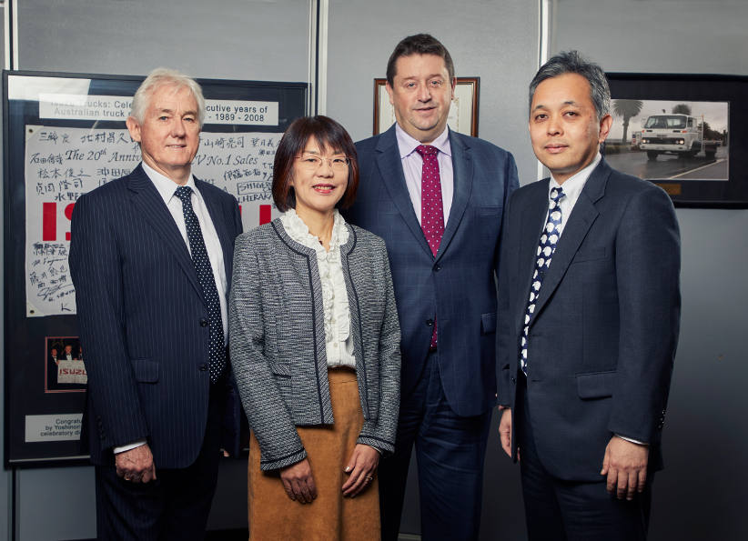 Isuzu meets shifting market landscape with new executive structure