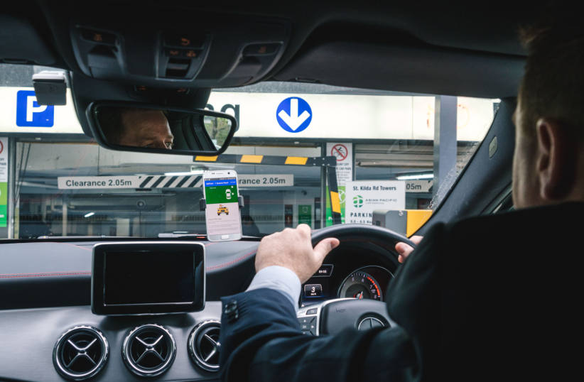 UbiPark announces hook-up with Hertz to use its find-a-park technology
