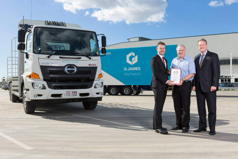 Right fit for G.James heavy vehicle fleet