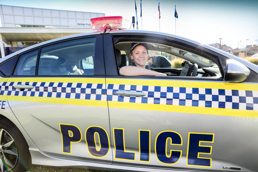 Holden's new Commodore recruited by SA Police