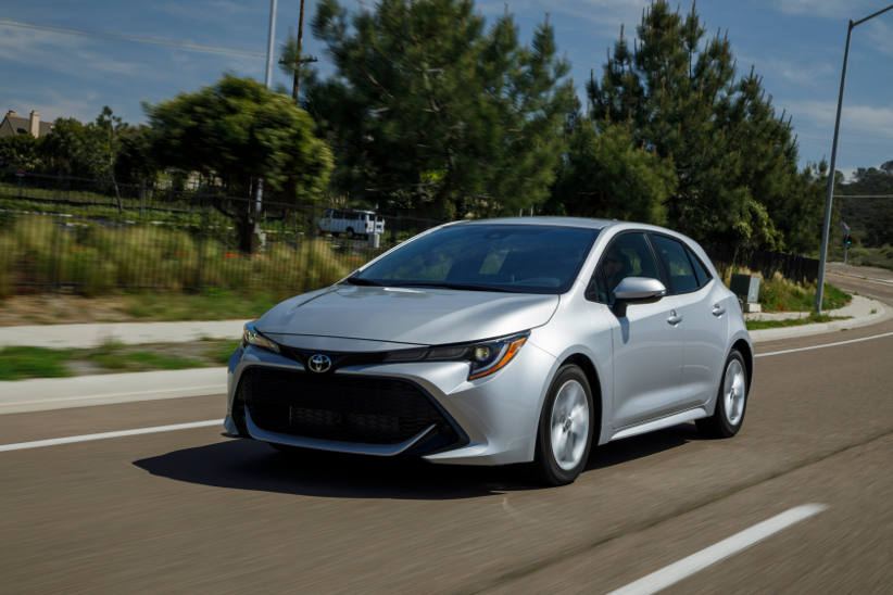 New Corolla delivers class leading safety for drivers and fleets