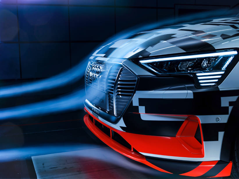 Audi e-tron - production has started prior to launch in September