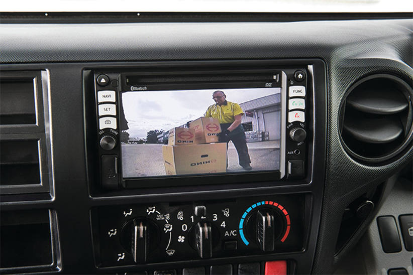 Every Hino truck to come with a reversing camera standard