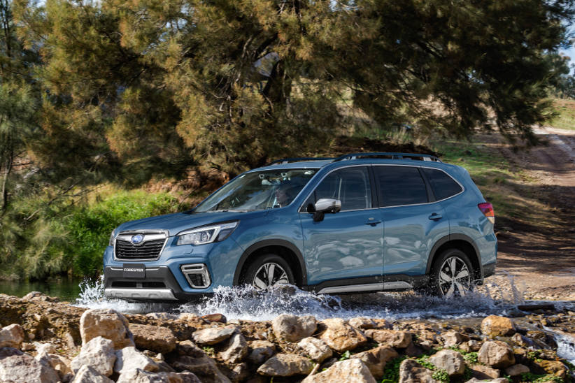 MY19 Subaru Forester - Full specifications
