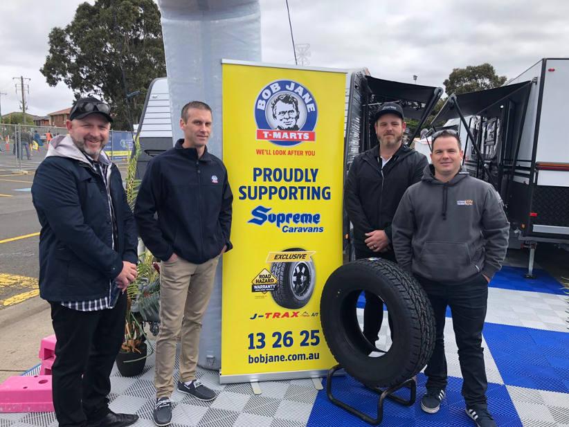 Supreme Caravans selects Bob Jane A/T private label tyre