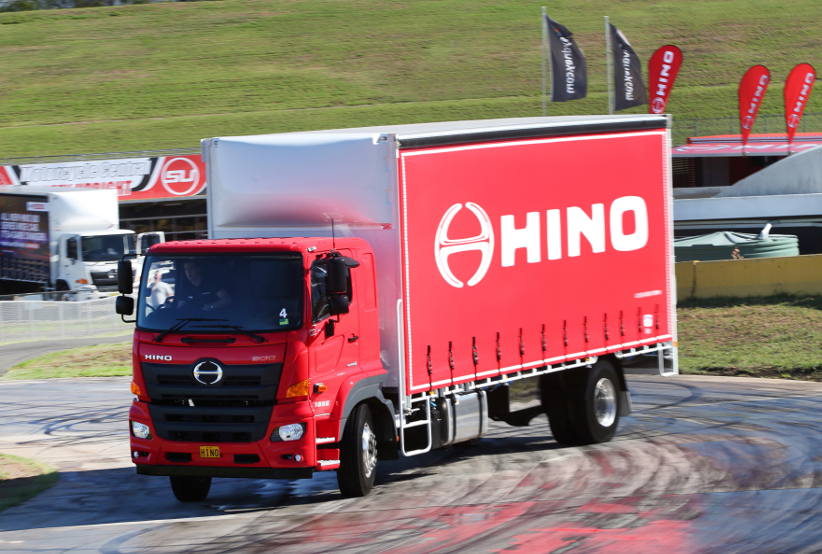 Hino continues to make trucks as safe as cars with technology