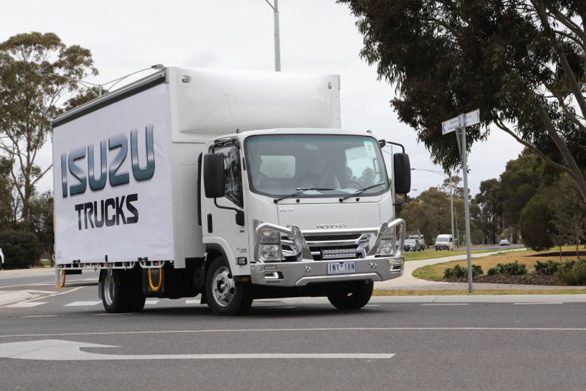 Has Isuzu hit the sweet spot with its new eight-pallet light truck?