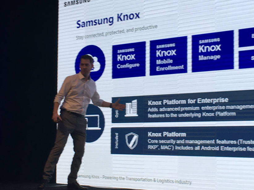 Samsung sees Australian fleets as a big market for its Knox