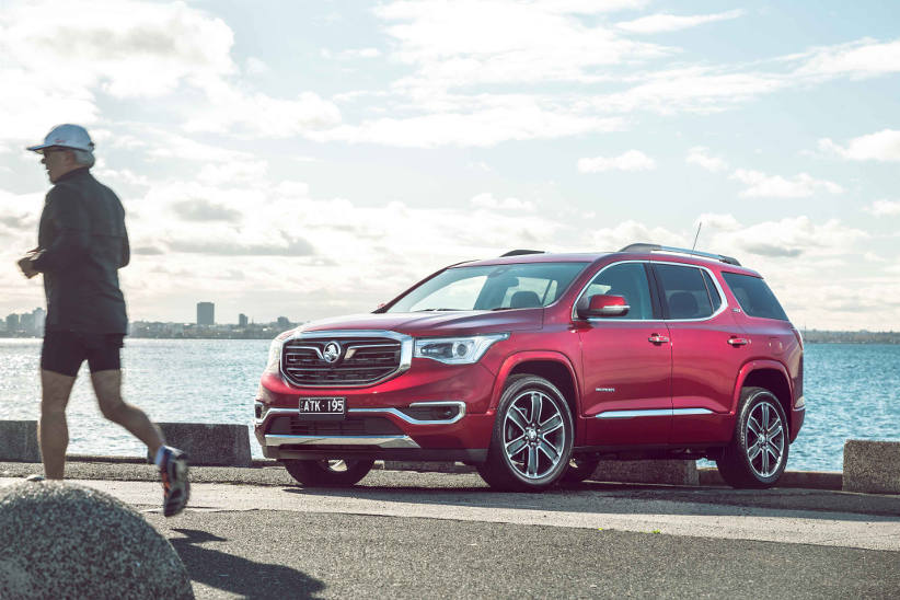 Holden Acadia - Pricing and specifications