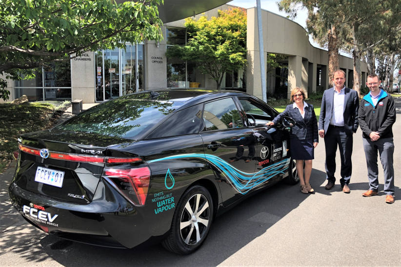 Council fleet gets hydrogen powered Mirai for 12 week trial
