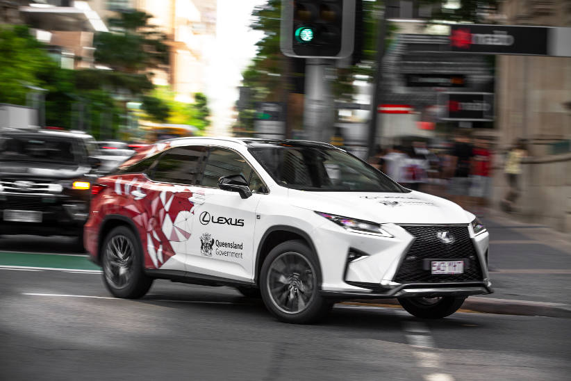 Lexus in Qld trial of intelligent transport systems