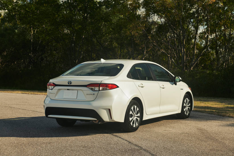 Corolla sedan is another hybrid option for fleets