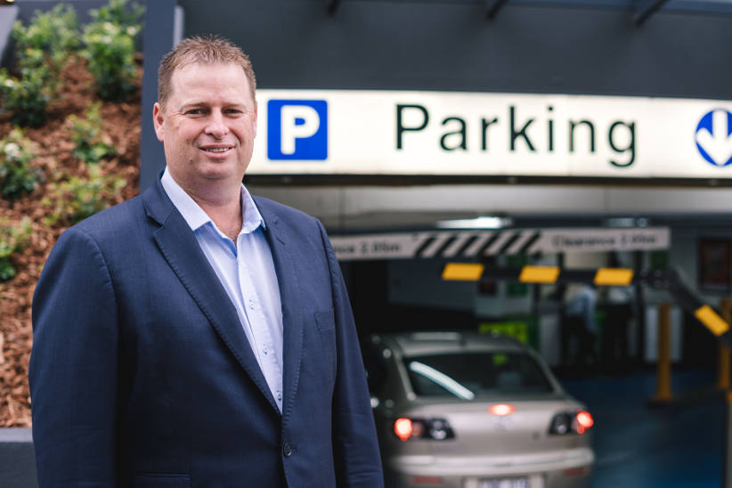 UbiPark App - developed to help fleets find cheap parking